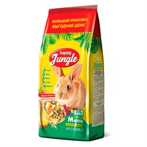Корм Хеппи Джунгл для кроликов 900г