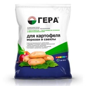 Удобрение Гера для Картофеля,моркови и свеклы 0,9кг(25)