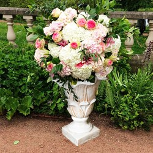 Вазон для цветов Лилия под патину U07924-WP
