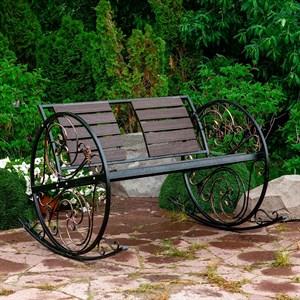 Кресло качалка кованое 881-46R - фото 87043