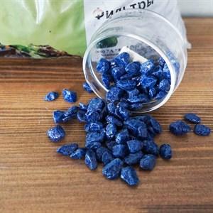 Грунт ТРИТОН блестящий 5кг синий крупный