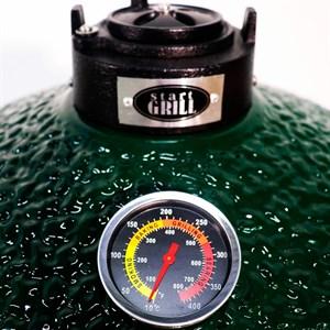 Гриль-барбекю яйцо керамический угольный зеленый, 39,8 см/16 дюймов - фото 87210