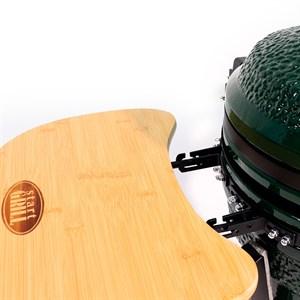 Гриль-барбекю яйцо керамический угольный зеленый, 39,8 см/16 дюймов - фото 87211