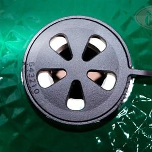 Гриль-барбекю яйцо керамический угольный зеленый, 61 см/24 дюйма - фото 87237