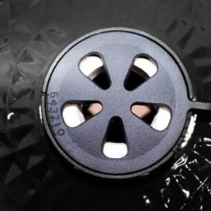 Гриль-барбекю яйцо керамический угольный черный, 61 см/24 дюйма - фото 87245
