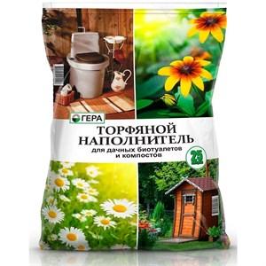 Торфяной наполнитель для дачных биотуалетов и компостов 25л Оптом