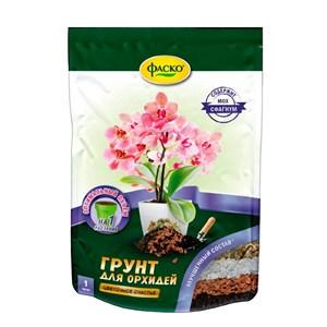Грунт Цветочное счастье для орхидей 1л дой-пак (20) Оптом