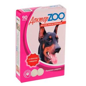 Лакомство ДОКТОР ЗОО для собак 90т говядина