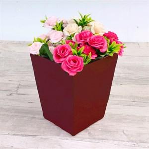 Плайм пакет для цветов 150*120/90 Пантон винный