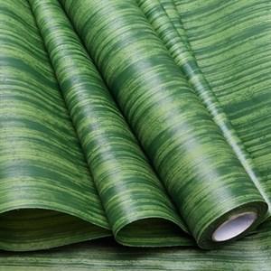 Фетр Ламинированный 50см х 10м 3Д Полосы оливковый