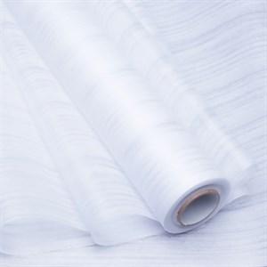 Фетр Ламинированный 50см х 10м 3Д Полосы белый