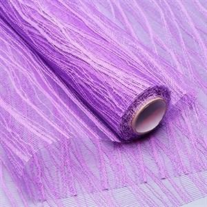 Сетка Волна 53см*5ярд фиолетовый