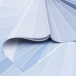 Пленка матовая 60*60см 20 лист Градиент серый