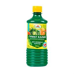 Удобрение Флоризел Гумат Калия овощной 0,5л