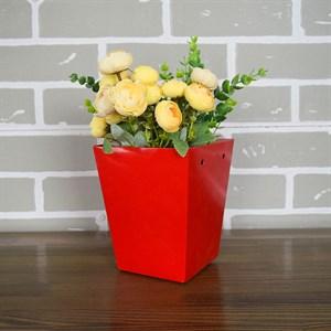Плайм пакет для цветов 150*120/90 Пантон красный
