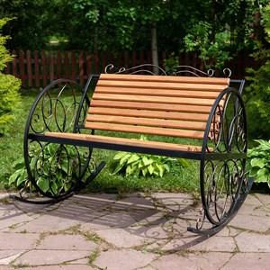 Кресло качалка садовое с деревом 881-45R