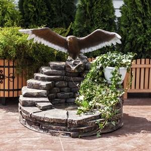 Фонтан Орел на камнях большой U08308