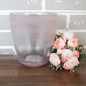 Горшок № 3 алебастр розовый d14.5