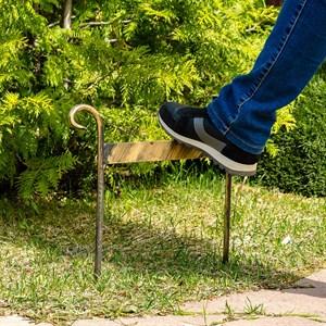 Чистилка металлическая для обуви 62-007