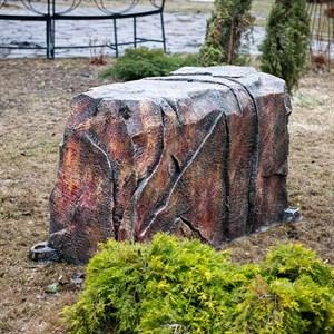 Крышка люка прямоугольная Камень Гранит U08321