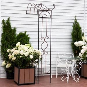 Полуарка садовая металлическая 863-33R