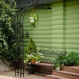 Полуарка садовая пристенная 863-40R