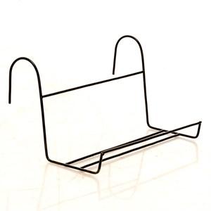 Подставка балконная металл чёрная 51-042