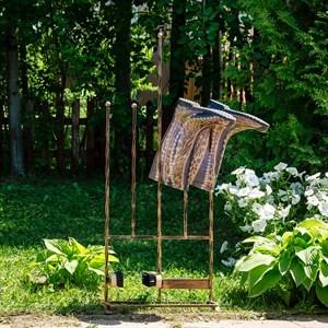 Декроттуар садовый с сушилкой для обуви кованый 62-015 - фото 92837