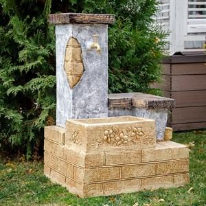 Умывальник для сада в греческом стиле U08863