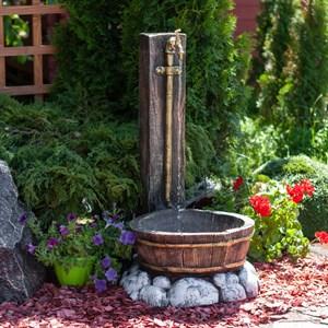 Умывальник садовый с кадушкой U07558