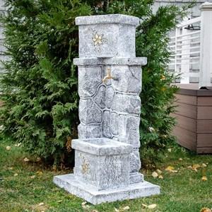 Умывальник каменный с кашпо под бетон U08851-BTO