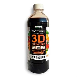 Удобрение Гера 3D для овощей 0,5л
