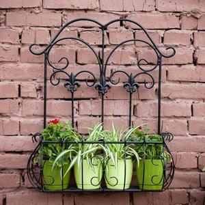 Подставка настенная садовая 50см