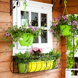 Подставка балконная металлическая 90см 51-284