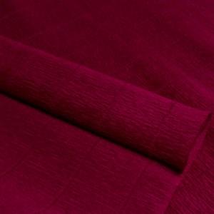 Бумага гофрированная простая темно-вишневая 180г 584