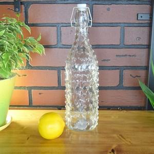 Бутылка стеклянная с бугельной пробкой 1л
