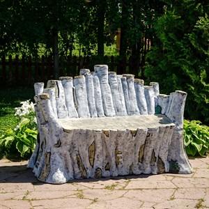 Диван садовый Березка стеклопластик U08917