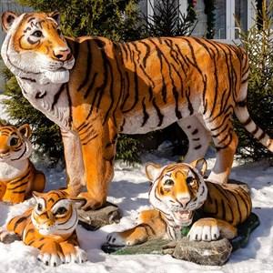 Фигура садовая Тигр амурский U08915