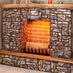 Колосник для камина кованый 240-20