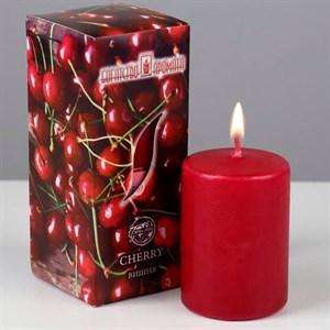 Свеча ароматическая 4х6см вишня