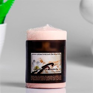 Свеча ароматическая 5,6х8 см французская ваниль
