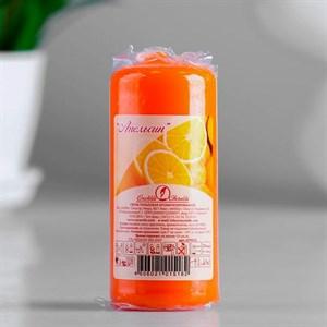Свеча ароматическая 4х9 см апельсин