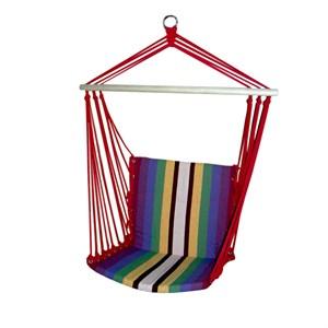 Гамак-кресло цветной (xлопок) (разноцветная полоска) WR-F06C Garden story