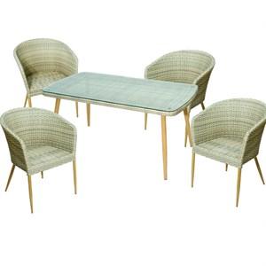 Набор мебели Эллен без подушек бежевый Garden story 532
