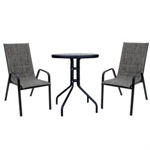 Набор мебели Сан-Ремо мини мягкий темно-серый 4568-МТ002