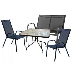 Набор мебели Сан-ремо Делюкс черный 4579-МТ003