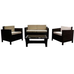 Набор мебели Никон коричневый, бежевый Garden story SFS001