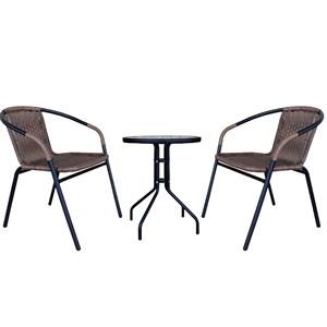 Набор мебели Марсель Мини желто-черный Garden story  WR2719, WR1208-МТ003