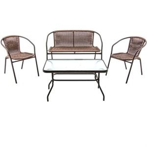 Набор мебели Марсель делюкс коричневый Garden story WR2719, WR2719-B, WR2719-T