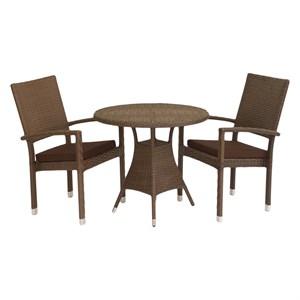 Набор мебели Клермон мини коричневый, коричневый CK001
